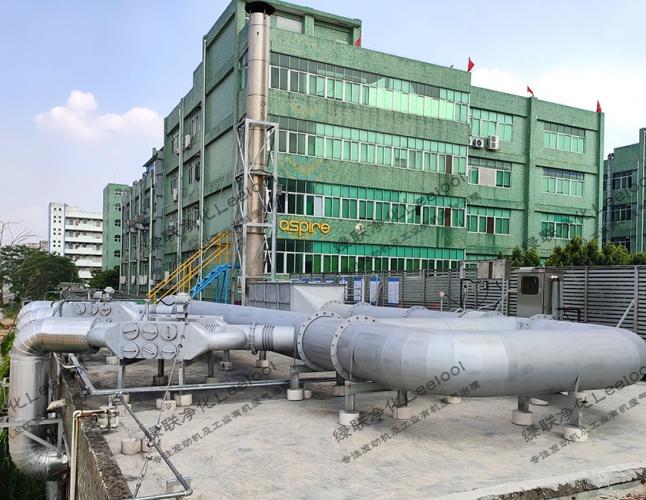 PM治理丨某日资企业深圳工厂备用柴油发电机组尾气黑烟治理项目