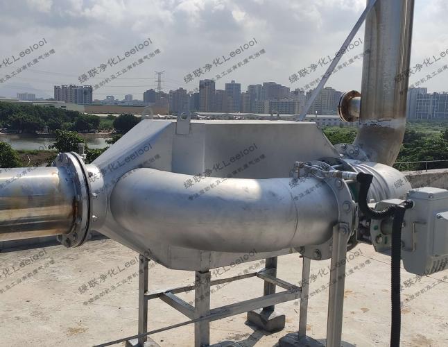 噪音治理丨长安某港企新建发电机房柴油发动机降噪工程