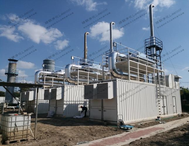 NOx治理|某国企餐厨垃圾发电厂六台卡特彼勒/曼哈姆沼气发电机组尾气氮氧化物治理