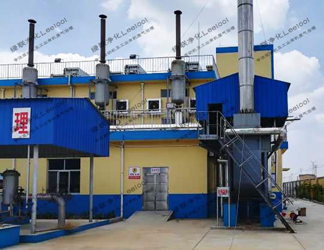 NOx治理丨山东某淀粉厂沼气发电机组尾气氮氧化物治理
