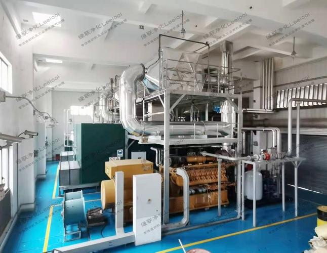 SCR脱硝技术|厨余垃圾填埋发电厂沼气发电机组尾气氮氧化物治理