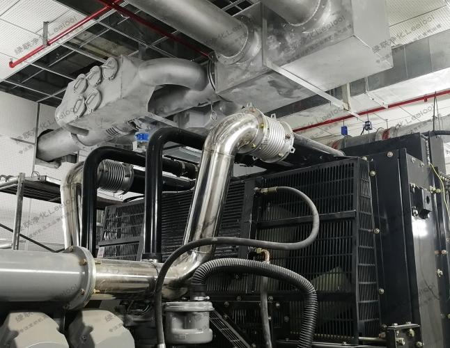 柴油发电机组冒蓝烟是哪里出了故障?