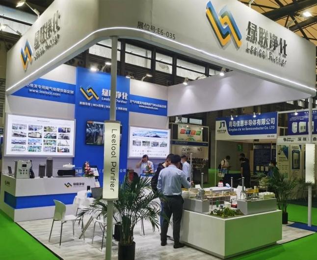 绿联净化连续第五年亮相上海国际动力展