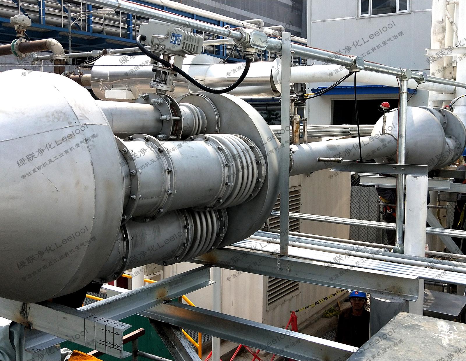 高炉尾气发电机组氮氧化物治理
