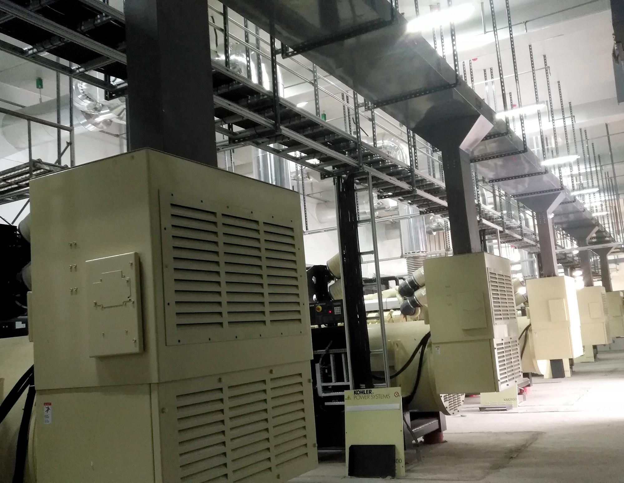 柴油发电机组黑烟拦截器