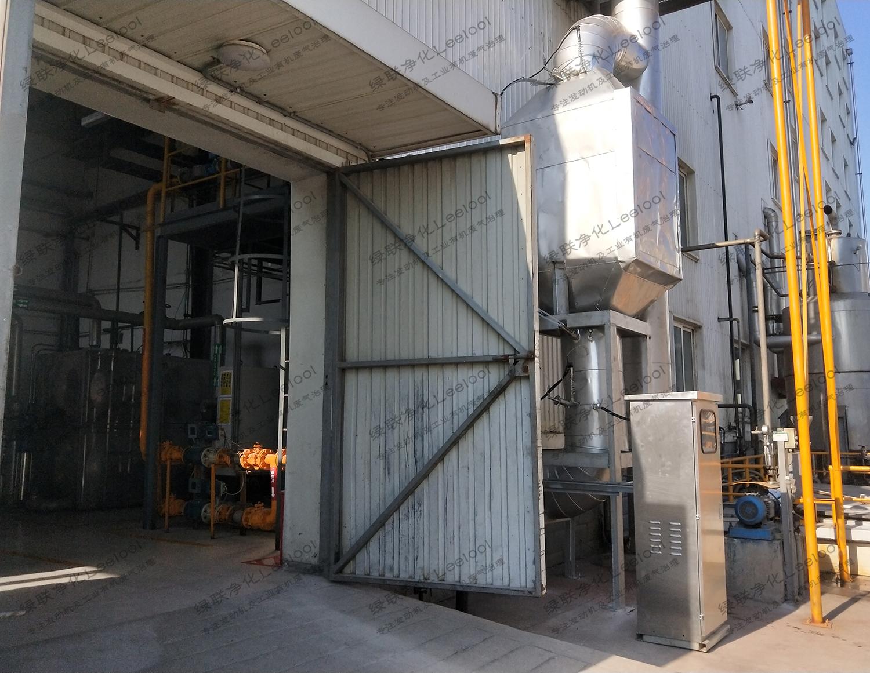 余热锅炉尾气氮氧化物处理系统