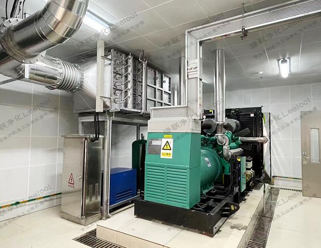 柴油发电机组尾气氮氧化物净化器
