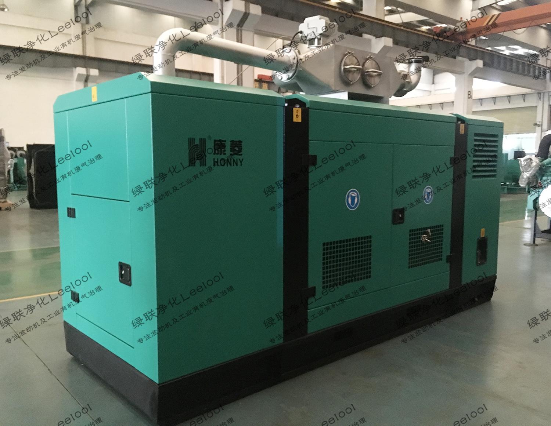 集装箱发电机组DPF物理颗粒捕集器