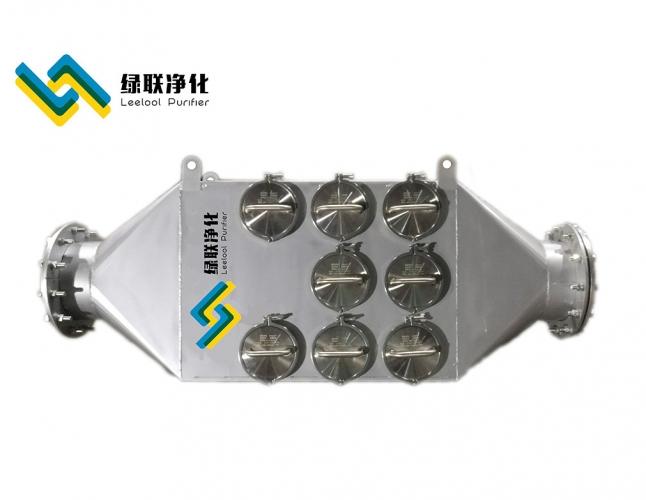 L40-DEZS-10型柴油机黑烟净化器