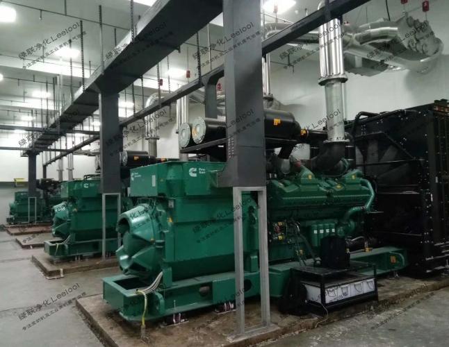 柴油发电机组尾气黑烟净化器