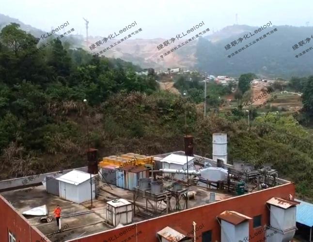 垃圾填埋场发电机组氮氧化物治理