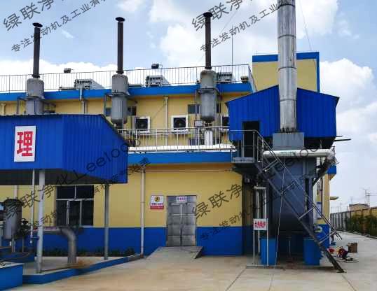 淀粉厂沼气发电机组氮氧化物治理