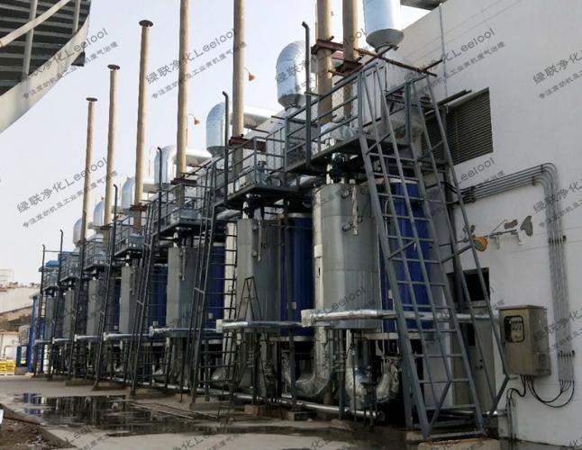 纸浆厂沼气发电机组氮氧化物治理