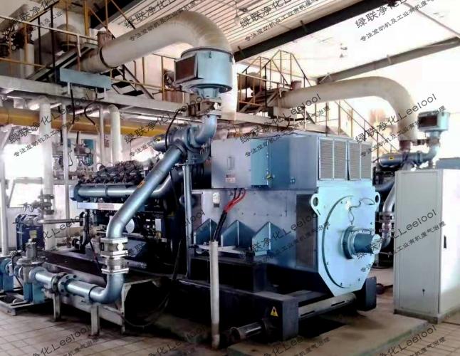胜动沼气发电机组尾气SCR脱硝系统