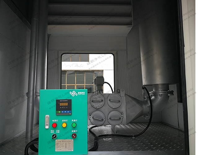 应急柴油车用尾气黑烟净化器