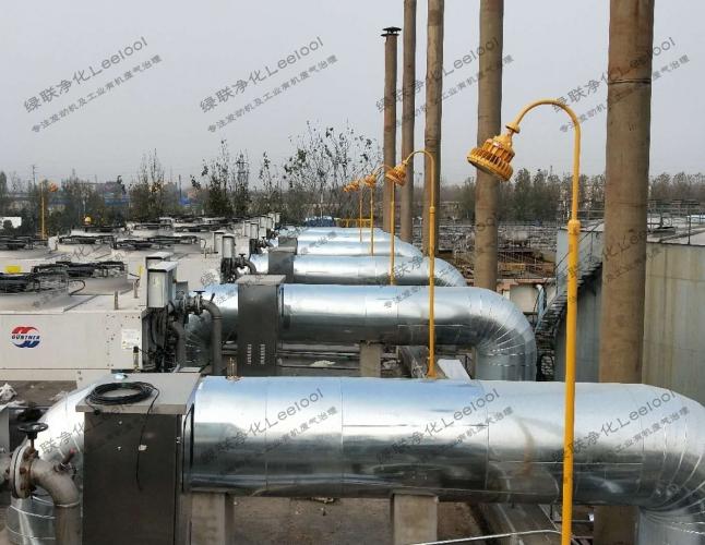 沼气发电机组SCR脱硝系统