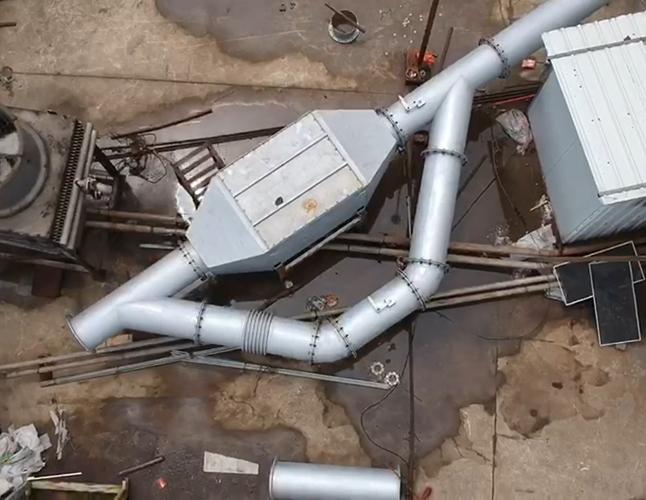 垃圾填埋气发电机尾气SCR脱硝系统
