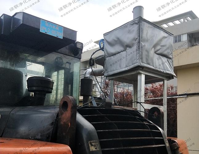 非道路移动机械柴油车尾气治理