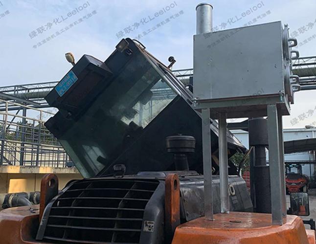 工程机械柴油车黑烟治理