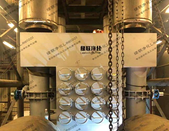 4MW柴油发电机组黑烟净化器  测试台架用 160L非标定制