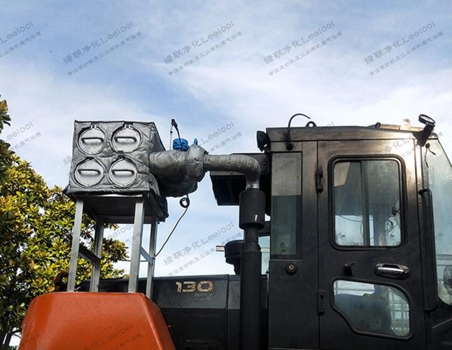 工程机械柴油车黑烟治理 带耐高温防护套防烫伤