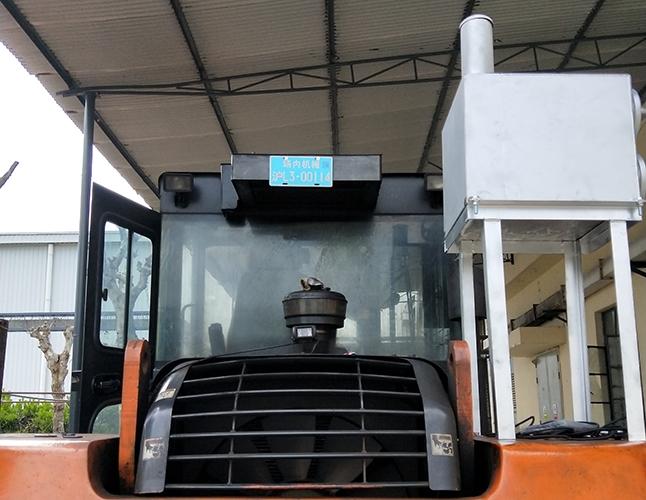 6T非道路移动机械柴油机黑烟治理