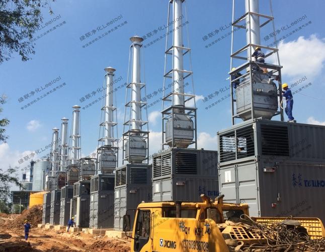 火电厂发电机组尾气氮氧化物超标治理