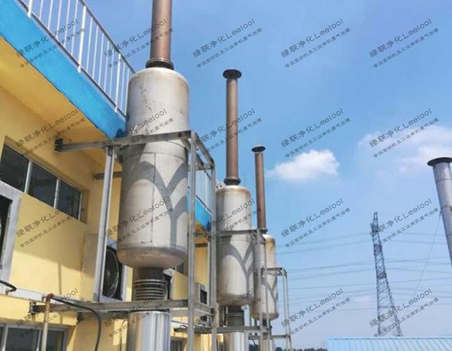 实验室测试台架用柴油发电机组尾气SCR脱硝系统
