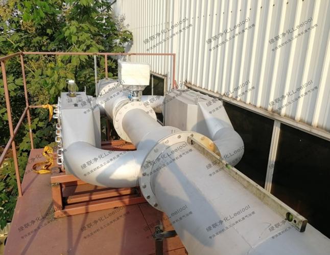实验室测试台架用柴油发电机组尾气黑烟净化器