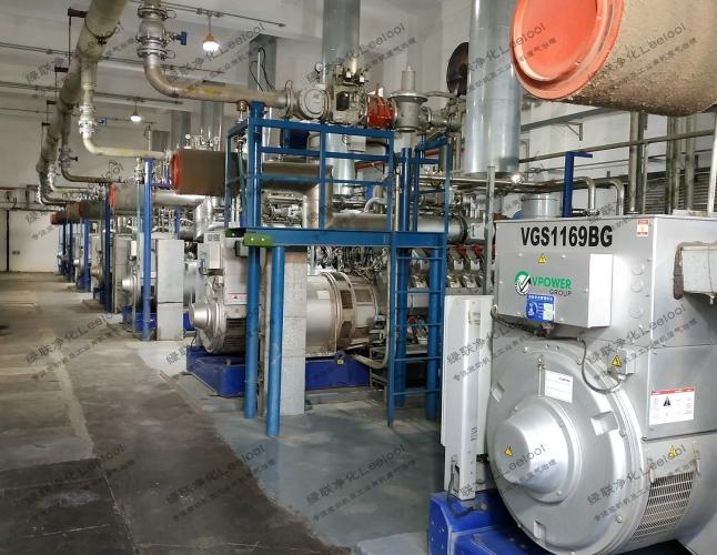 秸秆沼气发电机组尾气氮氧化物治理