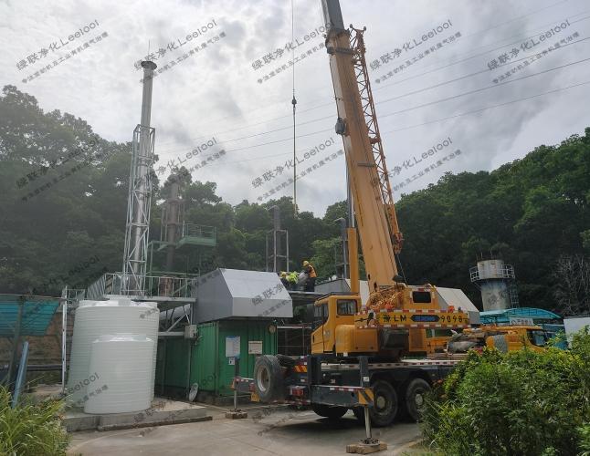 垃圾填埋沼气柴油发电机组氮氧化物治理