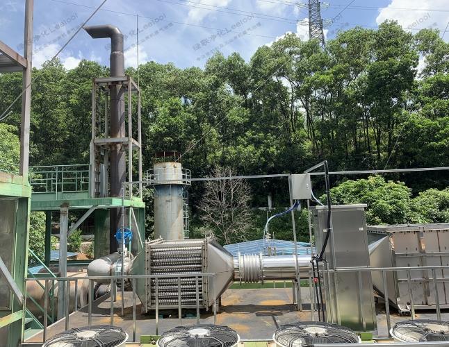 颜巴赫燃气发电机SCR脱硝设备降低氮氧化物浓度
