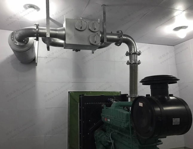 柴油发电机尾气净化装置黑烟吸附过滤器 使用时间长不易堵塞