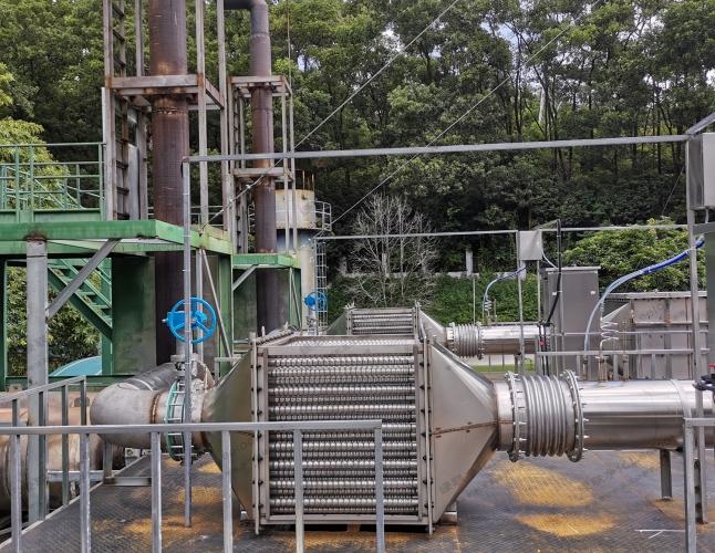 天然气发电机尾气脱硝系统 烟气脱硝 氮氧化物净化器