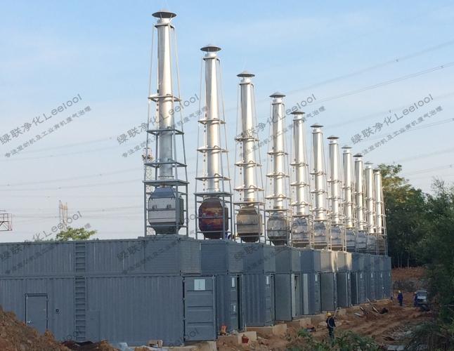 柴油发电机尾气氮氧化物超标治理设备