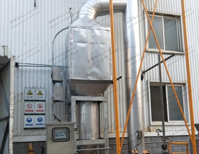 天然气锅炉脱硝氮氧化物超标治理SCR脱硝设备