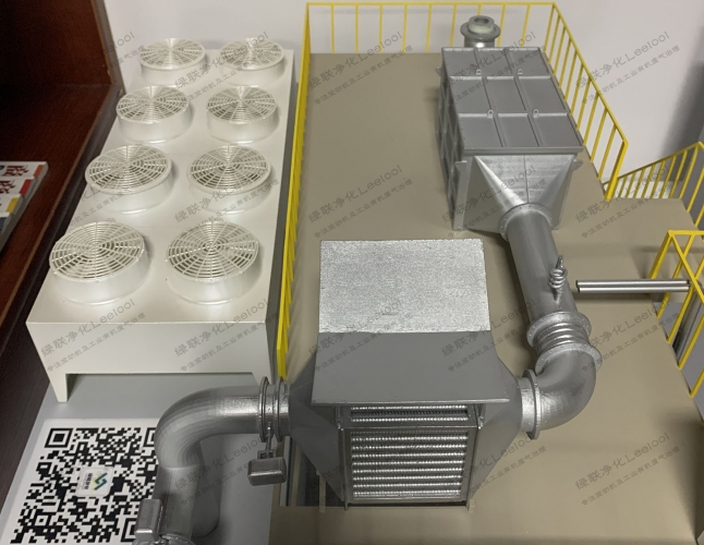 柴油发电机尾气氮氧化物超标SCR脱硝净化系统