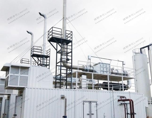 餐厨垃圾填埋发电沼气发电机尾气SCR脱硝系统