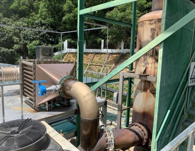 测试台架发动机尾气氮氧化物治理