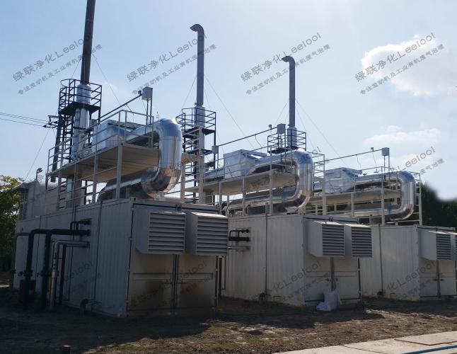 大型畜牧场沼气发电机组氮氧化物治理