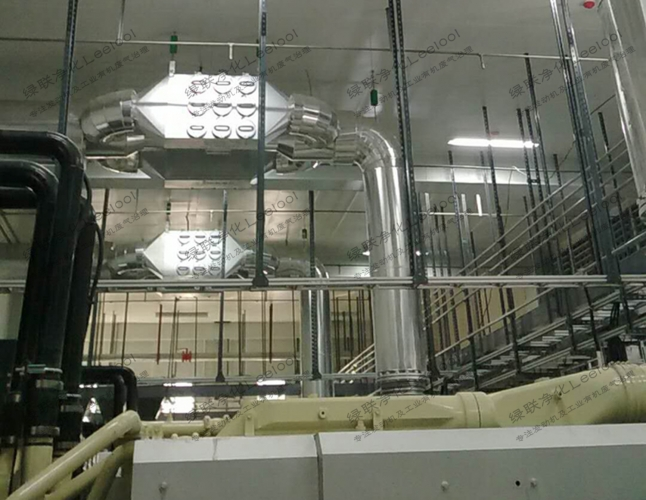 柴油发电机尾气干式黑烟净化器低空排放