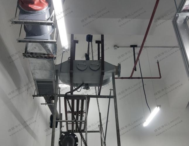 柴油发电机房排烟降噪工程设备