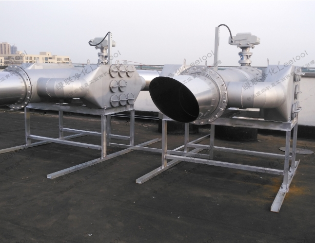 备用柴油发电机组尾气净化器