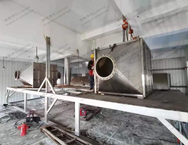 燃气发电机组排放三合一氮氧化物净化器