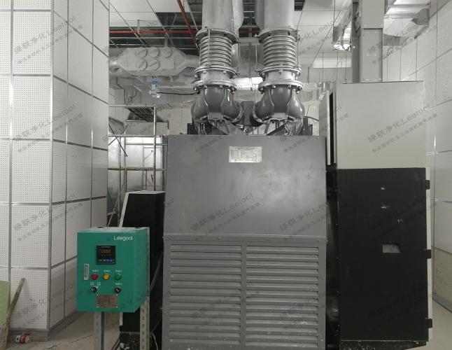 互联网数据中心备用柴油发电机组尾气净化器