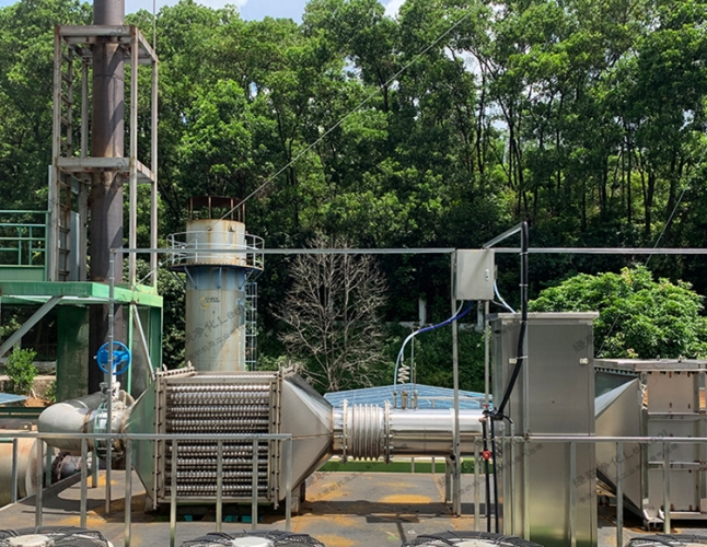 曼海姆燃气发电机组尾气脱销设备