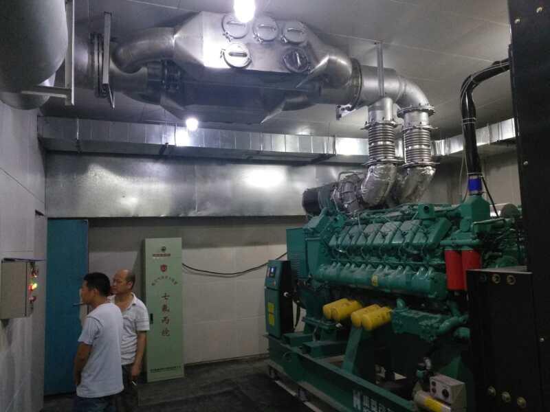 柴油发电机组尾气净化器