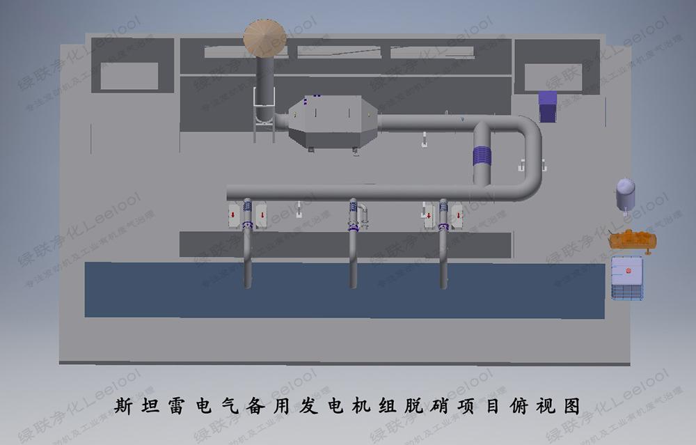 备用柴油发电机组黑烟及氮氧化物综合治理设计图2