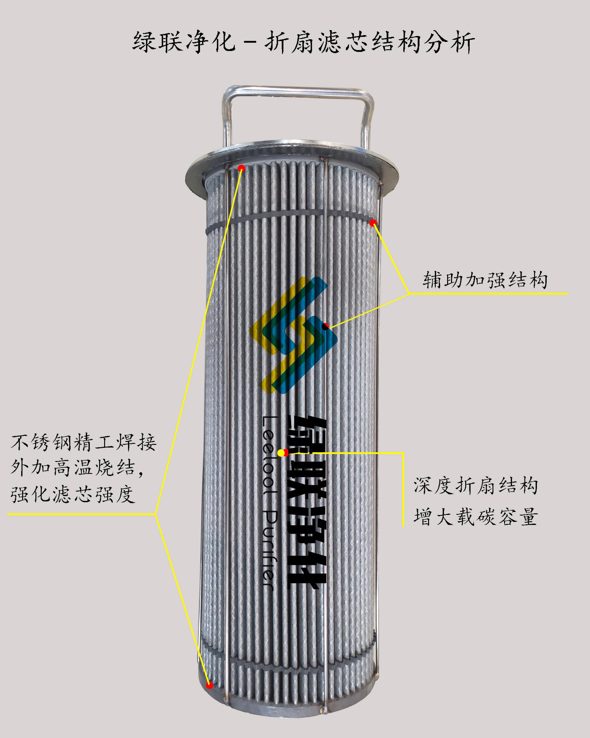 发电机干式黑烟净化器